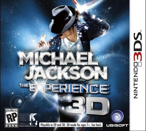 [3DS]3ds 迈克尔杰克逊生涯欧版下载 迈克尔杰克逊生涯下载