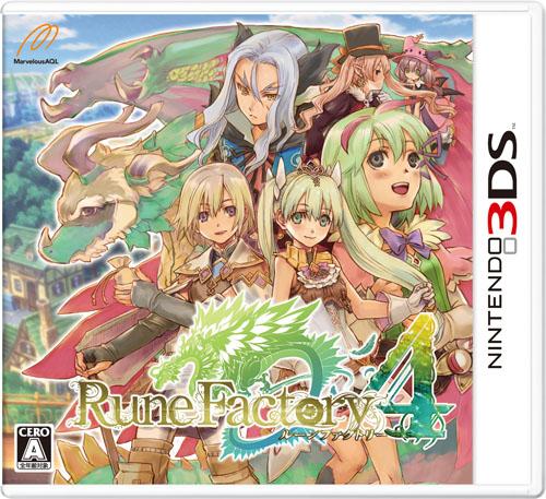 [3DS]3ds 符文工房4日版下载 符文工房4下载