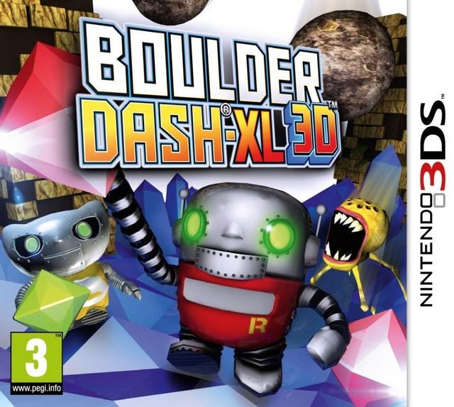 [3DS]3ds 推石小子3d欧版下载 推石小子3d下载