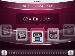 dstwo gba模拟器TempGBA使用方法