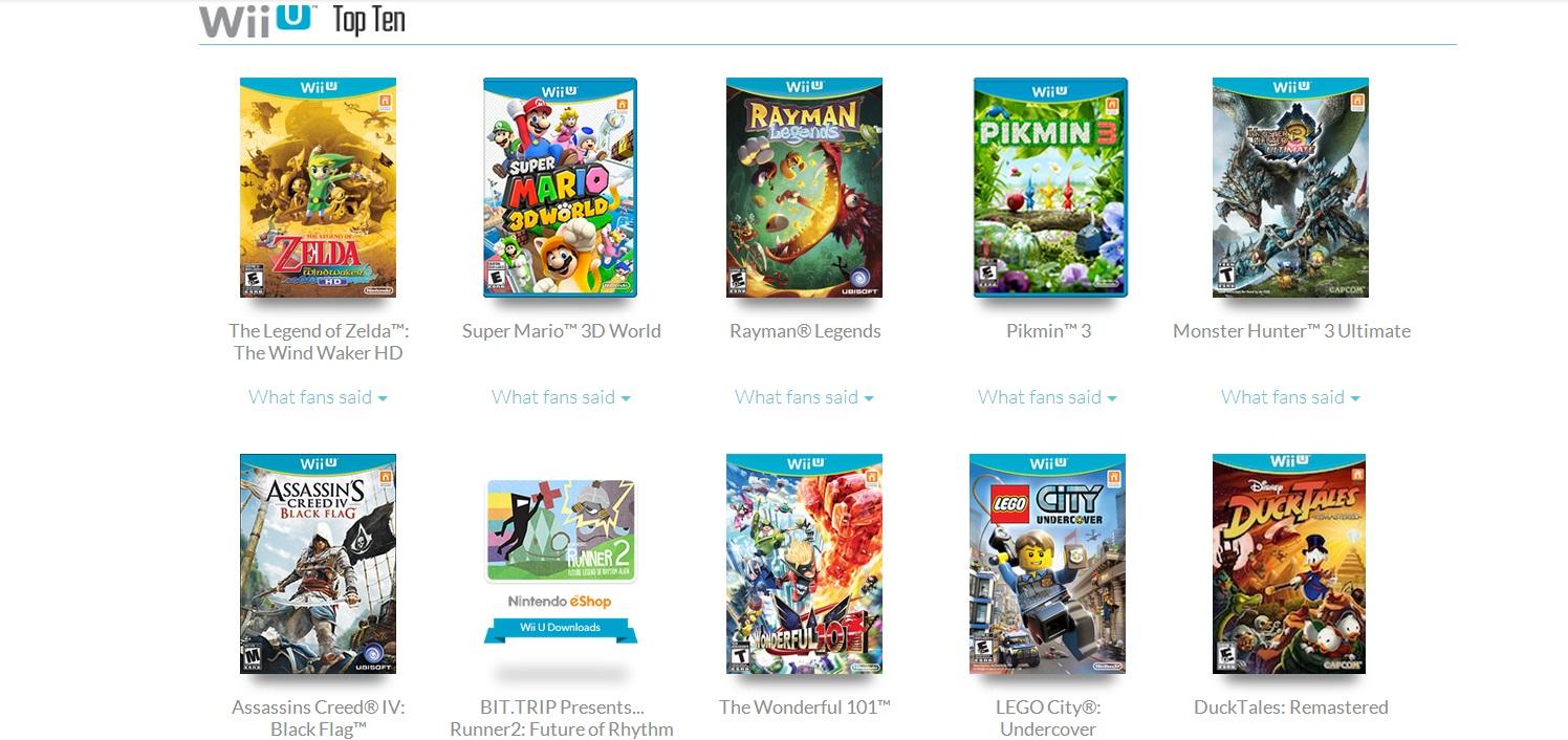 Wii U Games 2013 : 年wiiu十大必玩游戏 k 电玩之家
