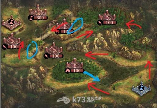 三国志12 战场地形分析