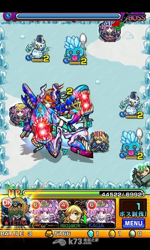 怪物弹珠Monster Strike水星魔机将攻略