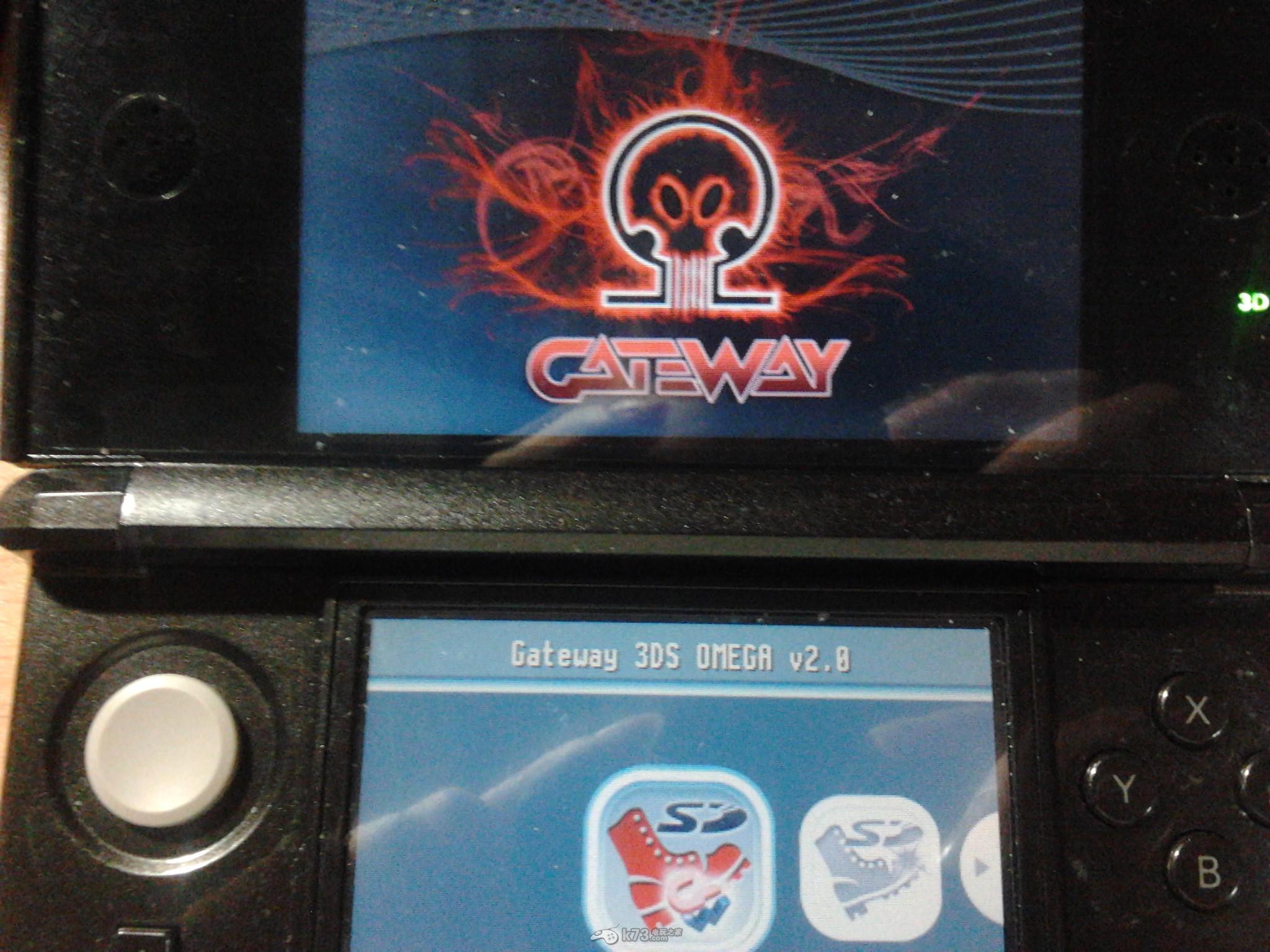 gateway 2.0 Omega固件破解教程 支持口袋妖怪xy