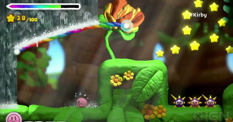 《星之卡比和彩虹诅咒》登陆WiiU