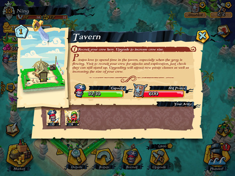 海盗掠夺战Tavern酒馆攻略