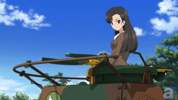 《少女与战车》剧场版截图首度公开