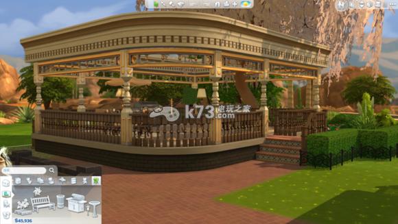 模拟人生4豪宅别墅细节及图片一览
