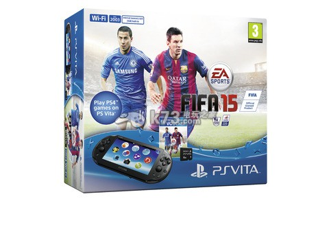 psv2000同捆《FIFA15》发售日期公布