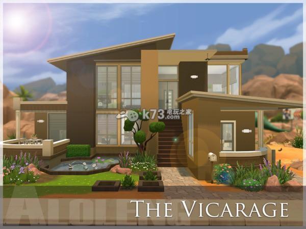 4色5阁_模拟人生4现代房屋建筑推荐(含房屋mod)