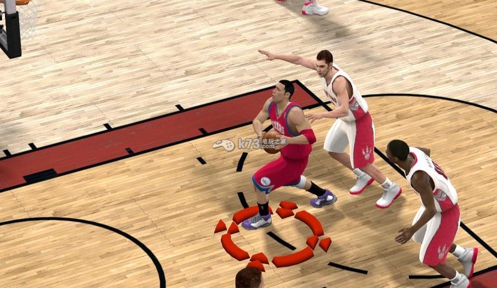 NBA2K15挡拆心得