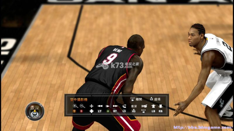 NBA2k15新手攻略界面详解