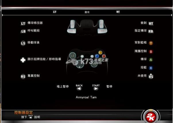 NBA2k15全花式动作操作方法