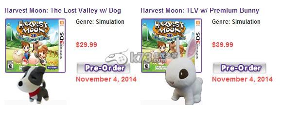 《牧场物语失落的山谷》发售日锁定11月4日