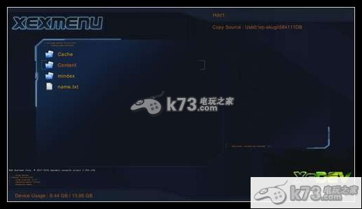 xbox360自制系统XEXMENU拷贝及运行xbla游戏教程