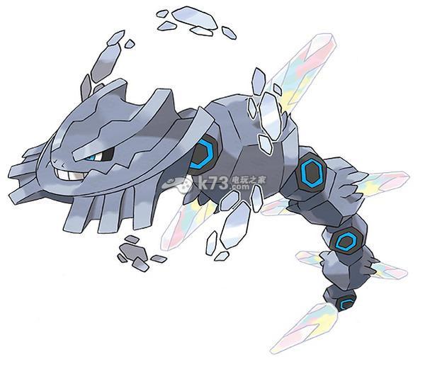 口袋妖怪红宝石/蓝宝石新MEGA大钢蛇与冰鬼护资料 捕捉传说精灵
