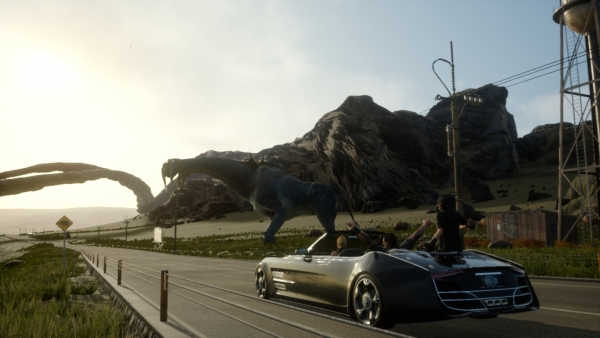 《最终幻想15》巴黎游戏展面部特效演示视频