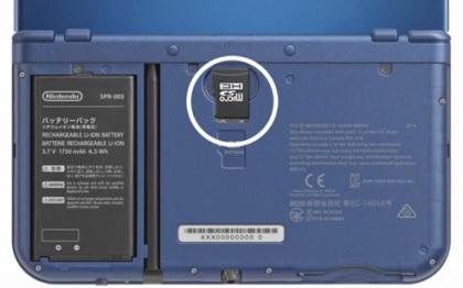 新3ds/3dsll更换microSD内存卡视频教程