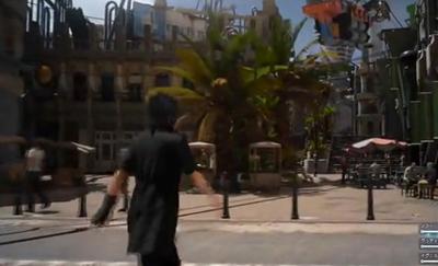 《最终幻想15》城镇探索试玩 可变身为狗