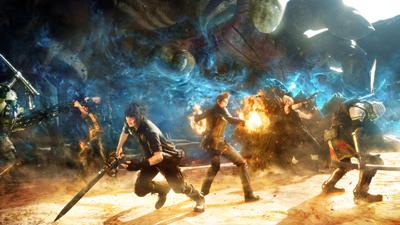《最终幻想15》NPC技术演示视频