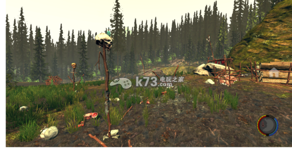 森林the forest全野人图腾一览图片