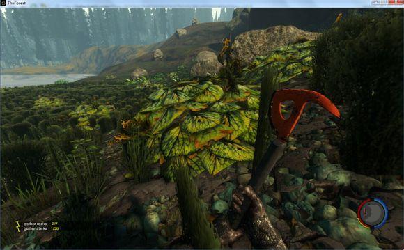 森林the forest无限刷叶子牙齿及地图攻略图片