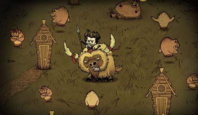 《饥荒巨人版》登陆WiiU平台 支持Off-TV