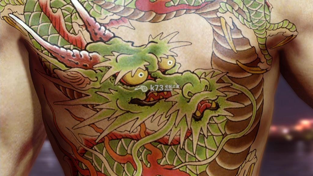 如龙0角色纹身汇总图片