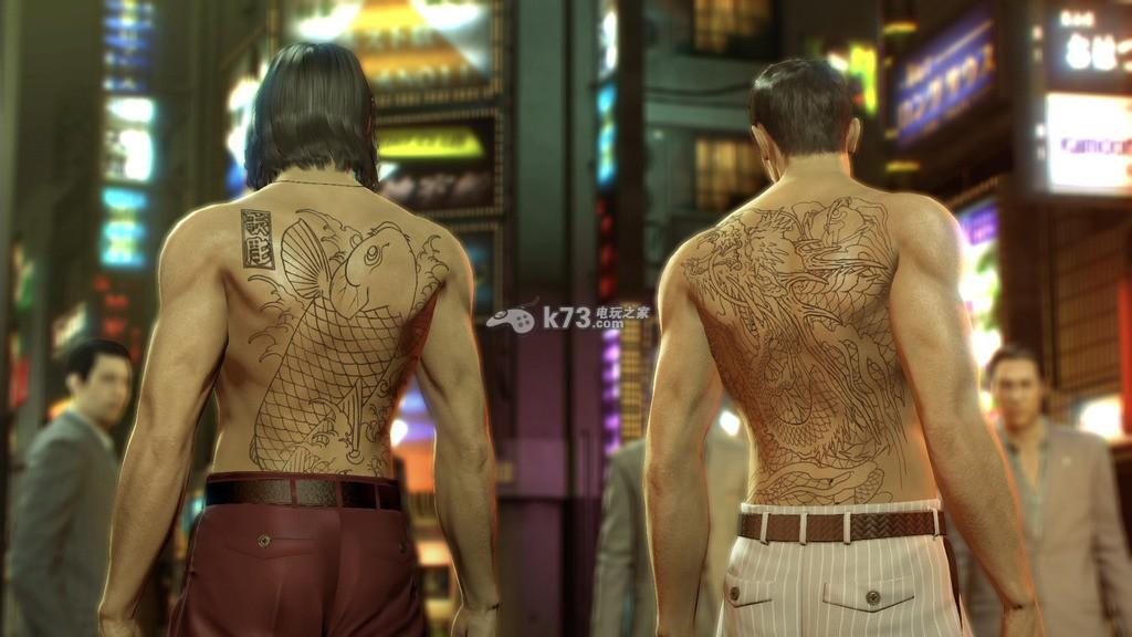 如龙0角色纹身汇总