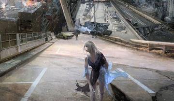 《最终幻想15》体验版秘密视频 神秘女性曝光