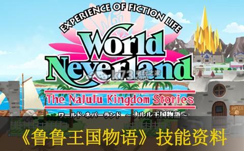 幻想国物语 那鲁鲁王国物语_幻想国物语那鲁鲁王国物语技能一览 -k73电玩之家