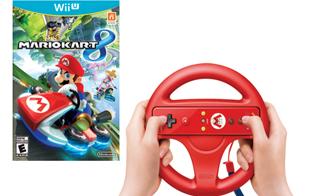 任天堂推出《马里奥赛车8》限定版wii方向盘