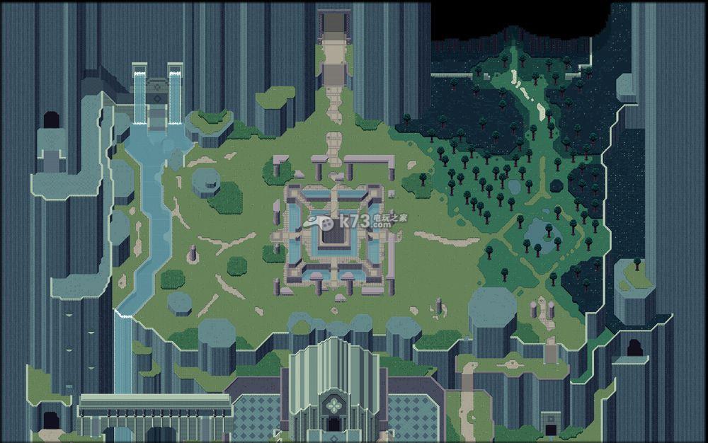 泰坦之魂大地圖一覽