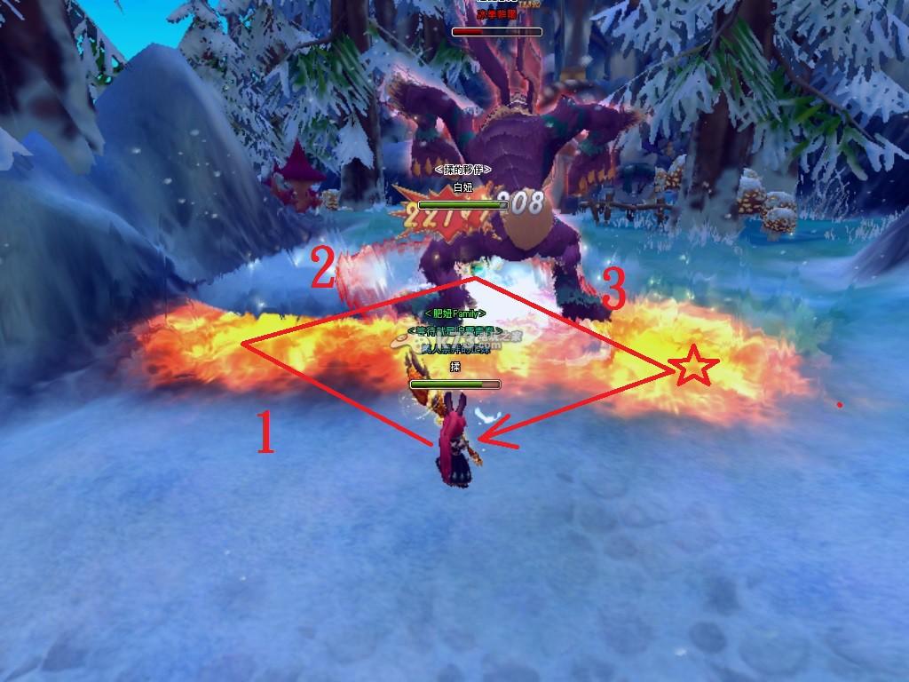 狩龙战纪魔导士火焰走位十字驱魔