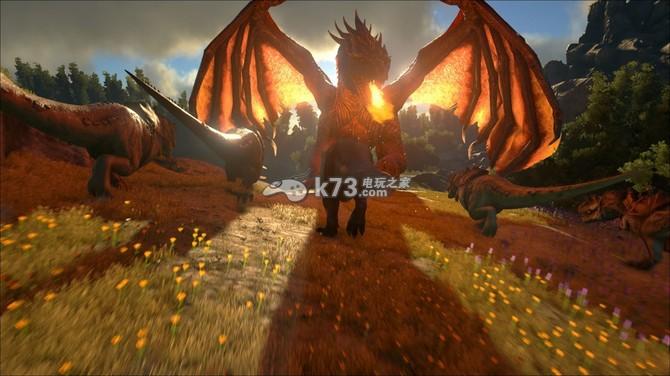 在恐龙世界战斗 《方舟:生存进化》正式发表