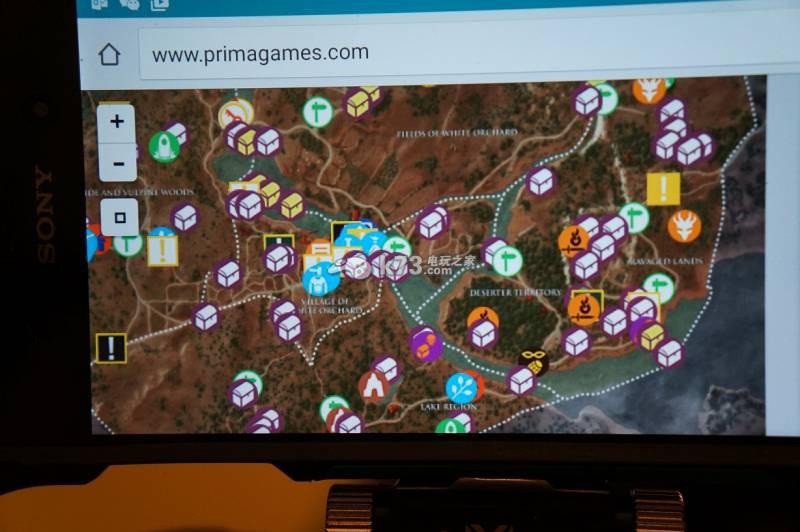 巫师3物品素材地图分布一览