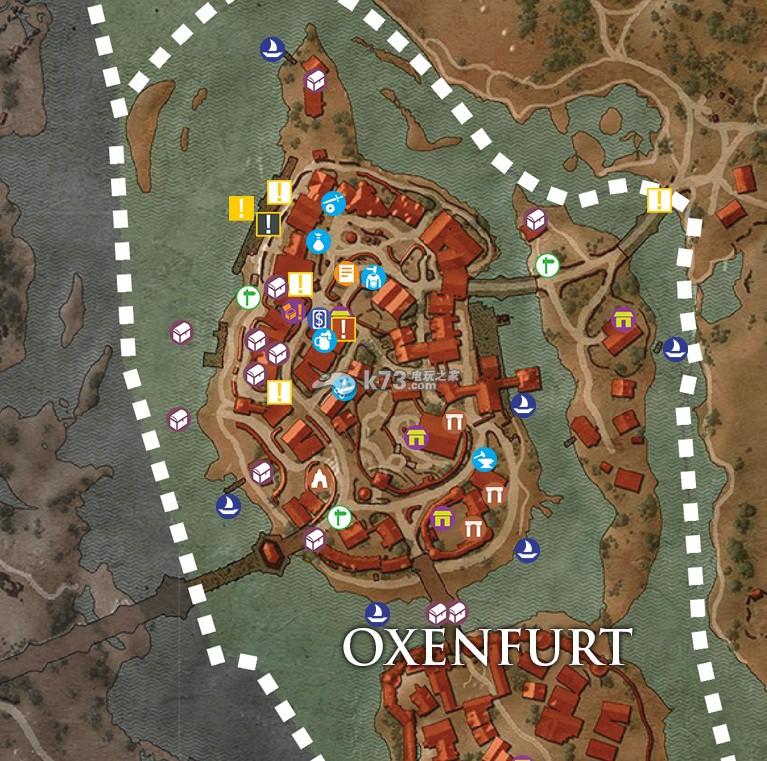 巫师3全宝藏宝箱地图分享