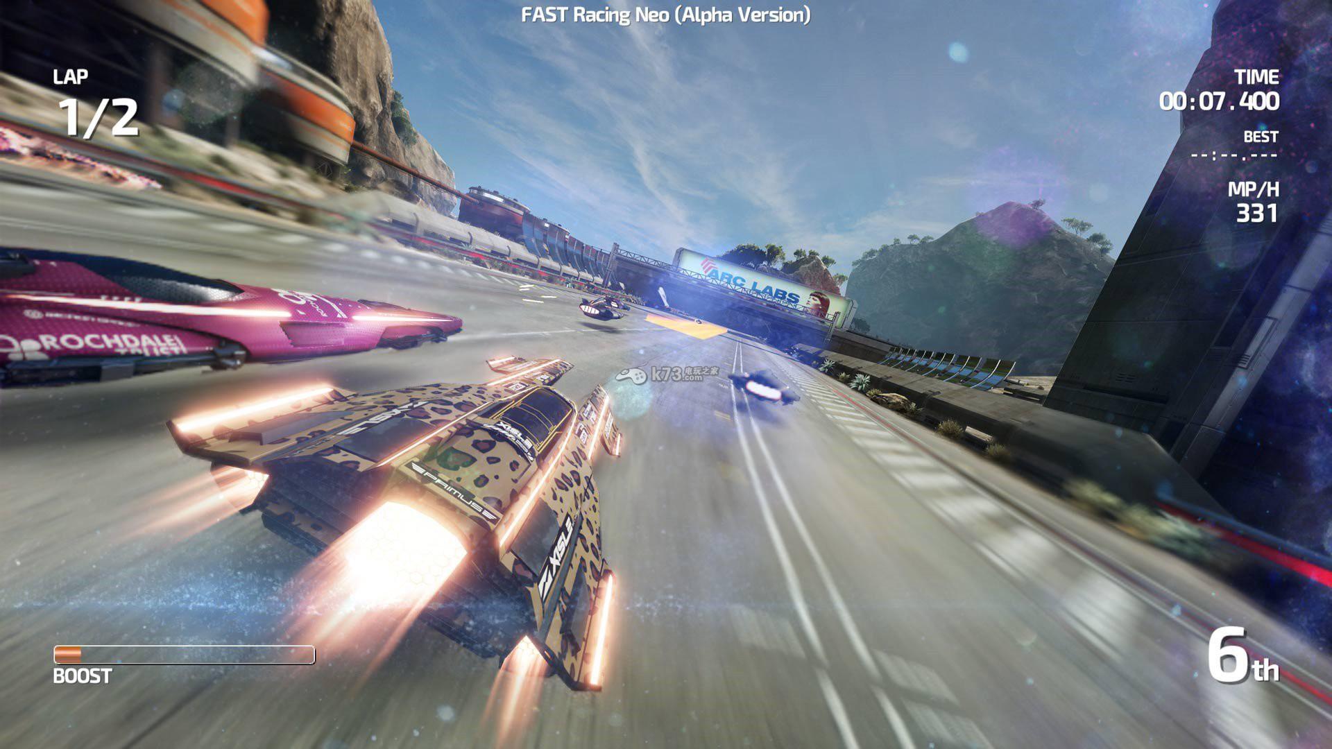 《极速赛车neo》2015年末发售 支持1-4人联机