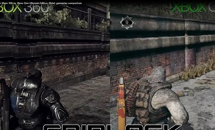 《战争机器终极版》与360原版对比视频