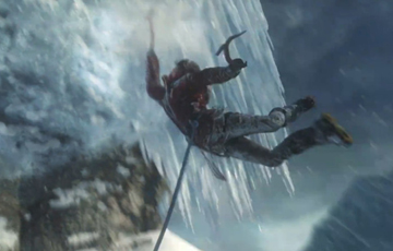 《古墓丽影崛起》E3小黑屋特别演示视频