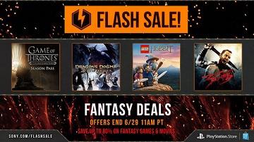 PSN美服本周末flash sale游戏列表