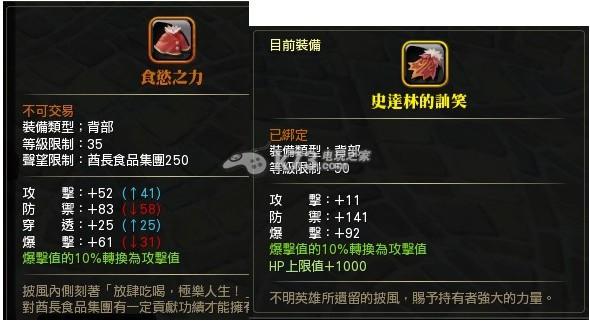 狩龙战纪战利品与背部装备选择