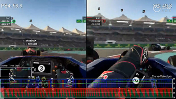 《F1 2015》ps4 VS xbox one版画面对比视频