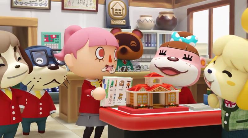 《动物之森快乐房屋设计师》电视宣传广告公开