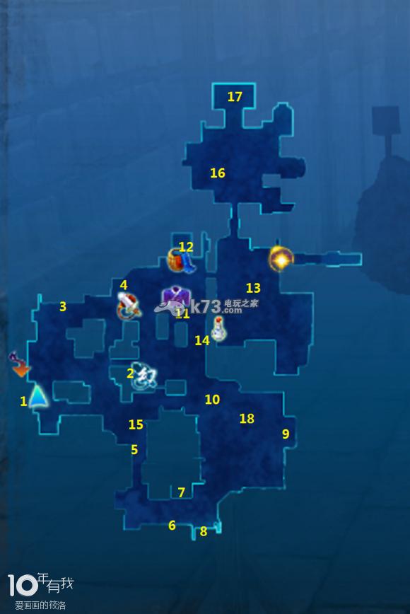 仙剑奇侠传6全地图要素标注图片