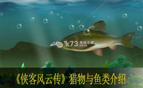 侠客风云传猎物与鱼类介绍