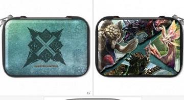 《怪物獵人x》新3DSLL保護殼&收納包等周邊公布