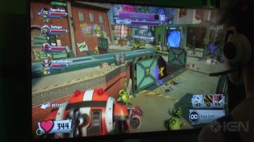 《植物大战僵尸花园战争2》GC2015屏摄游戏试玩公开