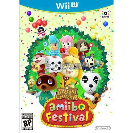 wiiu《动物之森amiibo祭典》封面公开 _k73电玩之家