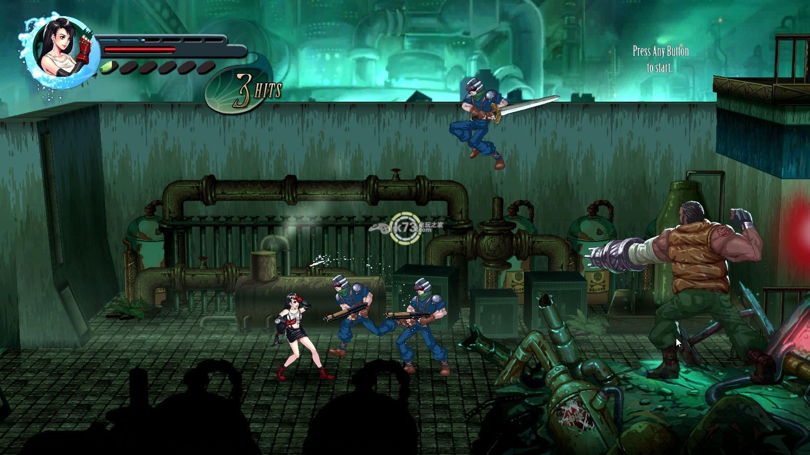 玩家自制2D横版格斗游戏《最终幻想7》demo放出